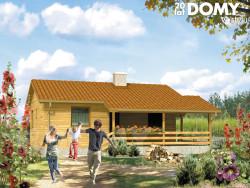 projekt rodzinnego projektu domku letniskowego
